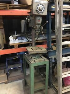 Rockwell Delta 15 655 Drill Press Variable Speed Will Ship Send Address 4 Quote