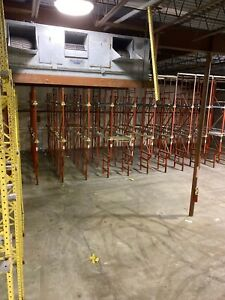 Pallet Racking 20 X 48 10 Uprights Pallets Clips Beams