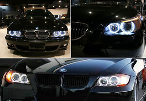 2pcs Led Angel Eye Ring Fog Light Bulbs Lamp 10w For Bmw E90 E91 328xi 3 Series