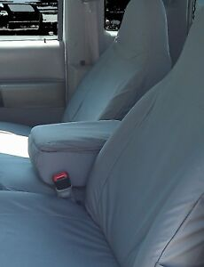 Chevy Colorado 2004 2012 Seat Covers 60 40 With Armrest console Style Black