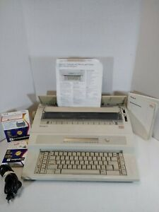 Olympia Startype 2 Electric Typewriter W Booklets 1 New Ribbon Tape Tested