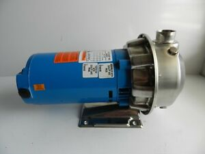 Goulds 2st1e2e4 Stainless Centrifugal Pump 1 25 X 1 5 1hp 3 Phase