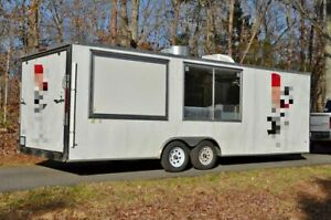 Fully Loaded And Efficient 2017 8 X 24 Catering And Pizza Food Trailer For S