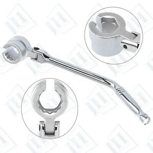 O2 Oxygen Sensor Flexible Double Sided Head Wrench Removes Installs Auto Tools