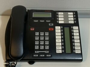 Avaya 7316e Digital Desk Phone Charcoal Gray Nortel Nt8b27jamae6