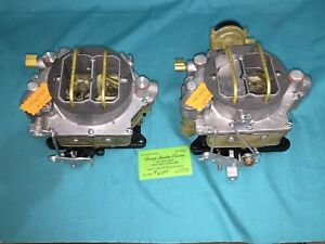1956 57 58 59 60 61 Chevrolet Or Corvette Dual Quad Wcfb 2x4 Carbs 270 Hp Clones