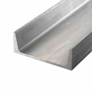 6061 t6 Aluminum Channel 9 X 2 65 X 60 Inches