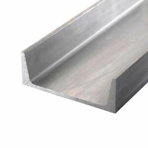 6061 t6 Aluminum Channel 9 X 2 65 X 24 Inches