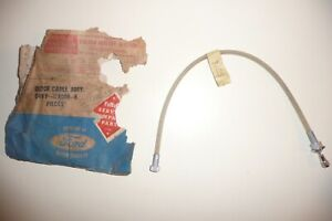 1964 Lincoln Continental Clock Control Cable Assembly Nos 64 Linc Cont