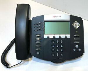 Polycom Soundpoint Ip 650 Sip With Power Supply Module Nice Fast Ship