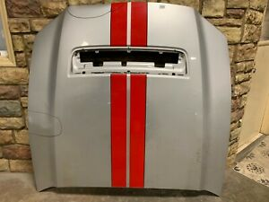 2010 2011 2012 Ford Mustang Gt500 Shelby Hood Oem Damaged