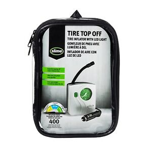 Slime Tire Inflator With Led Light 50 Psi
