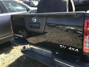 13 14 Nissan Frontier Trunk Hatch Tailgate W O Utility Bed Package Black