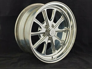 Circle Racing Polished Bullet Gt 17 X 8 Wheel 5 X 4 50 Bp 4 25 Bs