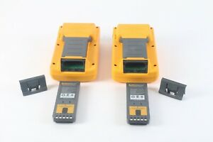 Fluke Dsp 4000 Cable Analyzer Dsp 4000sr Smart Remote W 2x Dsp fta410 Adapters