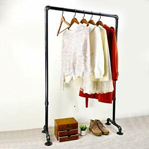 Clothing Rack 36 2in Length Vintage Commercial Grade Pipe