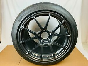 Corvette C7 Z06 Zr1 Forgeline Ga1r Open Lug Wheel Tpms G Force Rival Tire 18x13