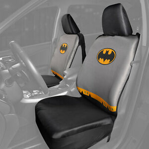 Batman Seat Cover And Steering Wheel Cover Gift Set For Cars Universal Fit