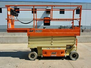 2015 Jlg 2632es Electric Scissor Lift 26 Working Height Deck Extension Genie