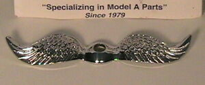 1926 1931 Model A And T Ford Chrome Wings For Junior Moto Meter