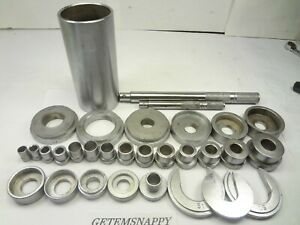 Snap On 31pc Seal Bushing Bearing Driver Set Very Nice
