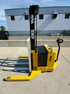 2012 Yale Msw040 Walkie Stacker Electric Hyster Compact Forklift Lifttruck
