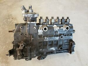 Bosch Cummins Inline 6 Cylinder Injection Pump As is Untested From Running Eng