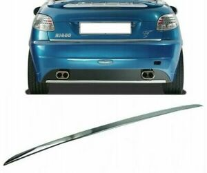 Peugeot 206 Cc Chrome Trim Strip Tailgate Tailgate Chrome Strip