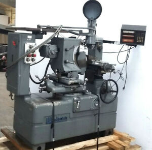 Wickman Optical Profile Grinding Machine 690038 Dro Taylor Hobson Projection
