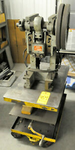 Benchtop Open Back Punch Press Berg Manufacturing
