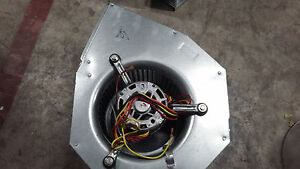 Hvac Blower Fan Assembly W Ge Commercial Motor 1 2 Hp T703 s Amp 1 90 Rot Ccw