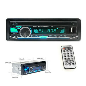 Bluetooth Car Radio Mp3 Player Stereo Usb Aux Classic Stereo Audio Color Machine