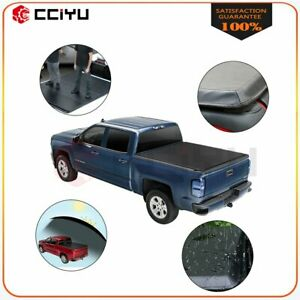 Fits For 2015 2020 Ford F150 Tonneau Cover 4 fold 5 5ft Bed Truck Waterproof