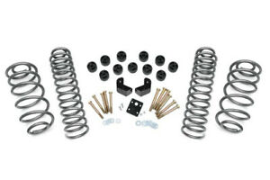 Rough Country 3 75 Dual Lift Kit Fits Jeep Wrangler Tj 1997 2006 4cyl 646