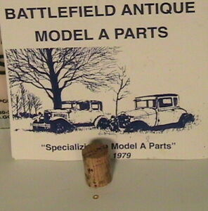 1928 1931 Model A Ford Gas Gauge Treated Cork Float