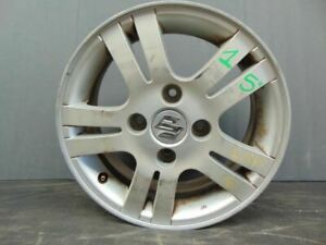 Wheel Road Wheel 15x6 Alloy Fits 06 08 Forenza 224371