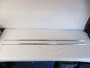 1960 Buick Wagon Rear Quarter Panel Fin Trim L r Oem 64 1 4 Wagon Only