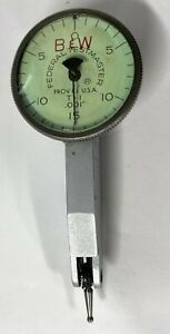 Federal T 1 Testmaster Dial Test Indicator 030 Range 001 Graduation