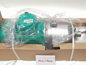 Wilo Mhi205n 1 e 3 460 60 2 Oem 50 High pressure Centrifugal Pump Water Pump
