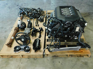 12 2012 Ford Mustang 5 0l Engine Motor 6r80 Auto Trans 109k Mile Take Out V17