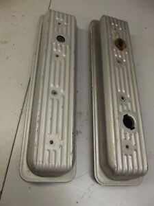 Sbc Vortech Valve Covers Finned Original Chevy Small Block Engine
