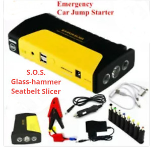 Car Boat Auto Battery Jump Starter Kit Emergency Power Bank Device Charger Usa