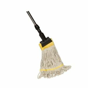Tidy Tools Industrial Grade String Mop With Extendable Metal Handle And Jaw C