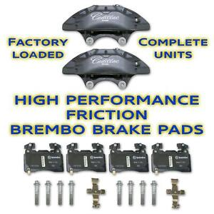 Cadillac Performance Brembo Front Set Brake Calipers With 171 1141 Brake Pads