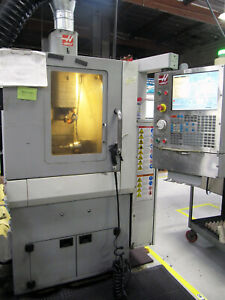 2009 Haas Om 2a office Mill Cnc Milling W 4th axis Rotary High precision