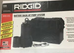 Ridgid Battery Back up Pump System R12v New In Box