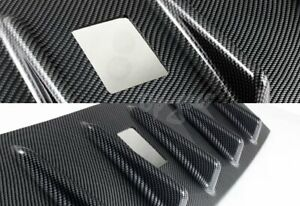 For Mitsubishi Lancer EVO 10 Vortex Carbon Style Shark Fin Rear Roof Spoiler $34.00