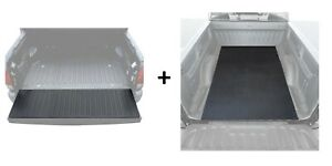Truck Bed Liner And Tailgate Pad Heavy Duty Rubber Liner For Pickups