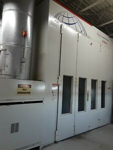 Blowtherm Ultra 2000 Commercial Paint Booth By Global Finishing Solutions