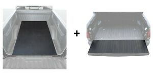 Bed Mat And Tailgate Pad Rubber Liner For Pickup Trucks Universal Size